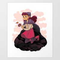 Psychic Witch Art Print