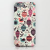 Birds And Baubles  iPhone 6 Slim Case