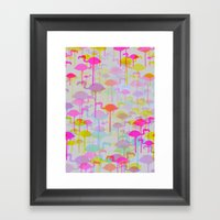 Flamingo Land Framed Art Print