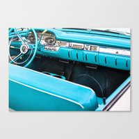 Timeless Turquoise Canvas Print