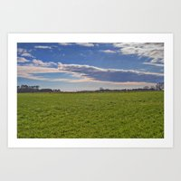 Forever Pastures Art Print