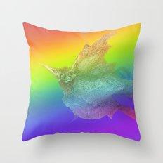 Baba Yaga Bird Throw Pillow