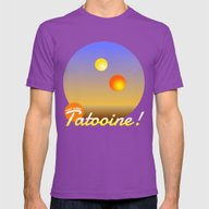 T-shirt featuring Tatooine Vacation Souven… by Silvio Ledbetter