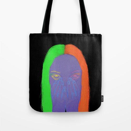 teenage angst Tote Bag