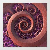 Spiral Mania Canvas Print