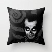 Jack T. Skeleton Throw Pillow