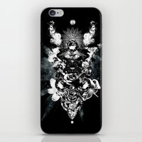 Orchids & Diamonds iPhone & iPod Skin