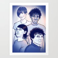 Bloc Party Art Print