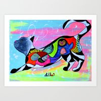 PLAYFUL WHISKERS Art Print