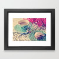 Sweet Morning Framed Art Print