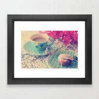 Sweet Morning Framed Art Print