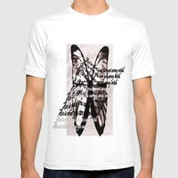 Art = .... Mens Fitted Tee White SMALL