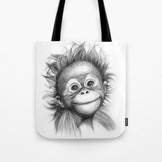 Monkey - Baby Orang Outa… Tote Bag