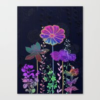 Flower Tales 3 Canvas Print