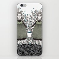 Blueberry Pickers iPhone & iPod Skin