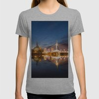 Winnipeg, MB, Canada Womens Fitted Tee Athletic Grey SMALL