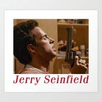 Jerry Seinfield Art Print