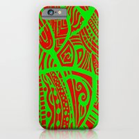 iPhone & iPod Case featuring Abstractish 3 by ElifsArt