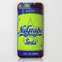 NuGrape classic soda iPhone 6 Slim Case