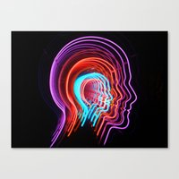 Electric Mind Canvas Print