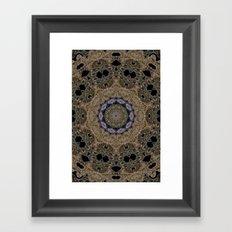 Abstractedly Spun Framed Art Print