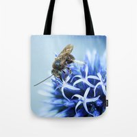 Colorful Bee Tote Bag