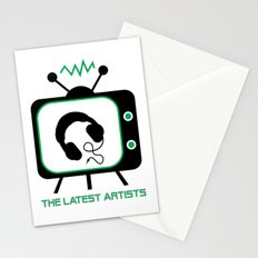 The Latest Artists Stationery Cards