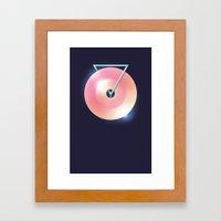 Melting Point Framed Art Print