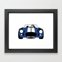 Shelby Cobra Framed Art Print