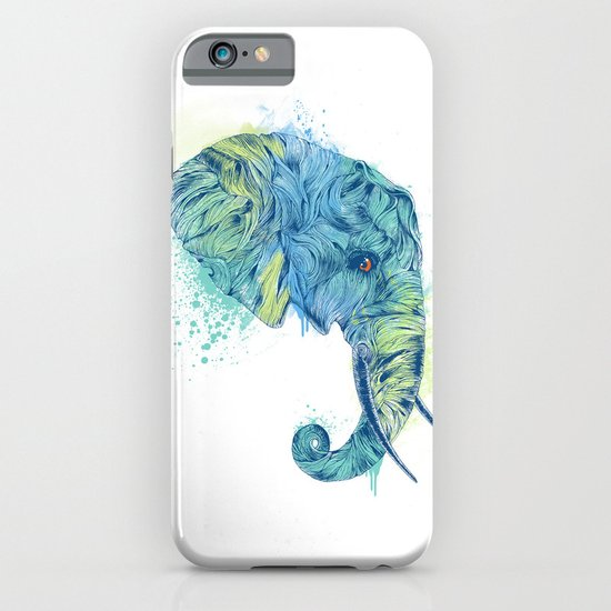 Elephant Head II iPhone & iPod Case