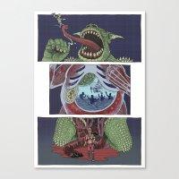 Troll Killer Canvas Print