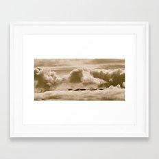 Floatilla Framed Art Print