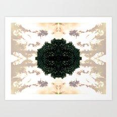 Natural Pearl Art Print