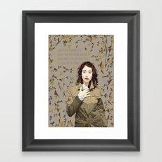 Regina Spektor Framed Art Print