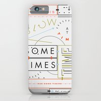 iPhone & iPod Case featuring Haikuglyphics - Thyme by Anne Ulku