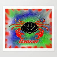 Cancer Art Print