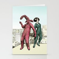 Dancing on the roof Stationery Cards