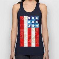 America Unisex Tank Top