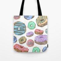 Mmm, Donuts Tote Bag