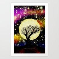 ALONE - 014 Art Print