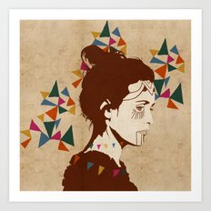 Sóley Art Print