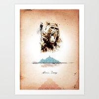 2 Of 3 Triptych Print Se… Art Print