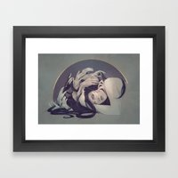 Sleepless Framed Art Print