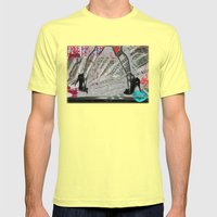 Submissive Capacity Mens Fitted Tee Lemon SMALL