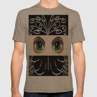 Reverse Masquerade Mens Fitted Tee Tri-Coffee SMALL