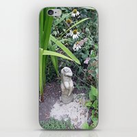 Sitting in the Garden iPhone & iPod Skin