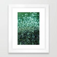 NATURAL SPARKLE Framed Art Print