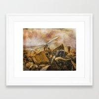 Dragonfly Dreams Framed Art Print