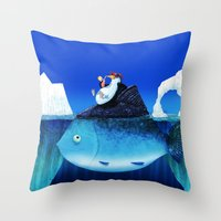 We all need some sun! Throw Pillow