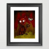 DevilBob Framed Art Print